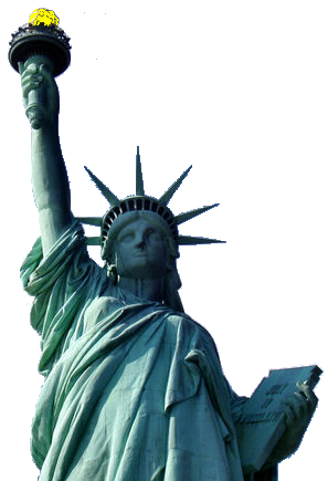 Statue of liberty png night. Index images litpng