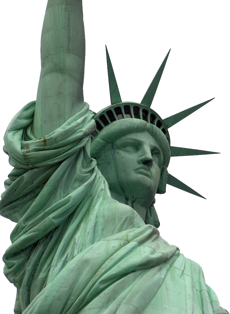 Statue of liberty gift png.