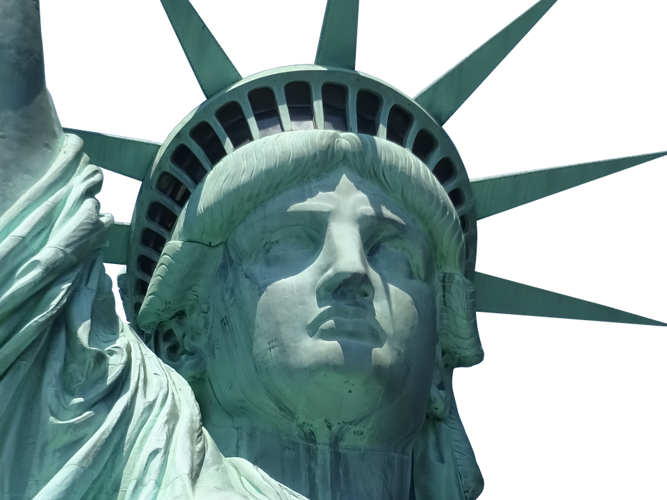 Statue looking up png. Of liberty images free