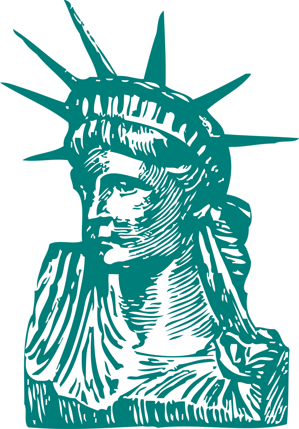 Statue of liberty illustration png. Free stock photo the