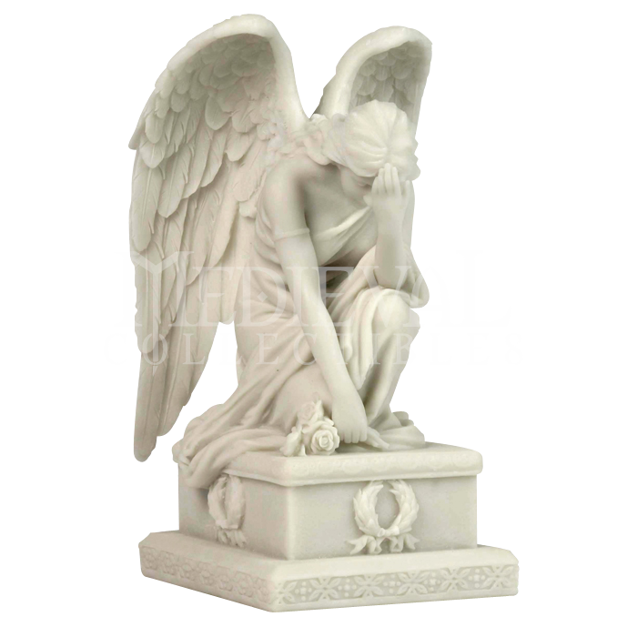 Statue png grief. Mourning angel pinterest statues