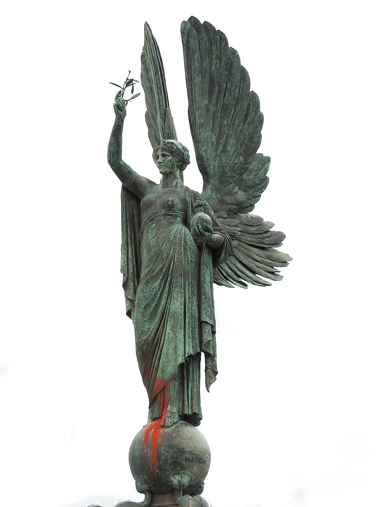 Statue png. Peace by evelivesey on