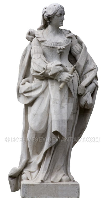 Statue png images. Queen isabel by evelivesey