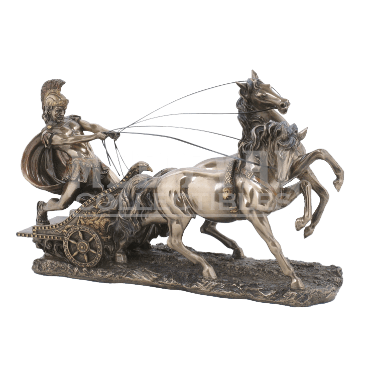 Statue png roman. Bronze chariot wu from