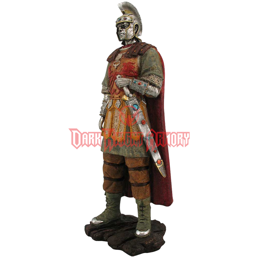 Statue png roman. Soldier ed from dark