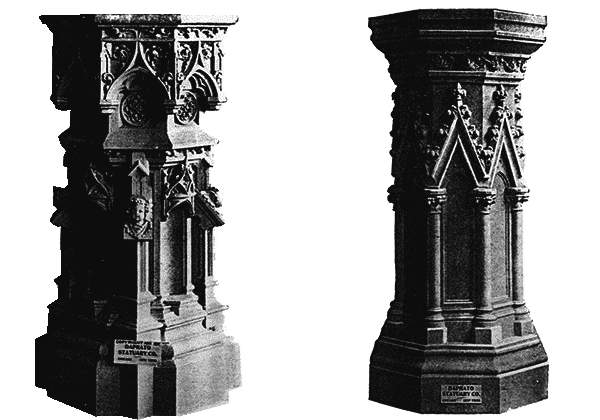 Statue podium png. Pedestals used church items