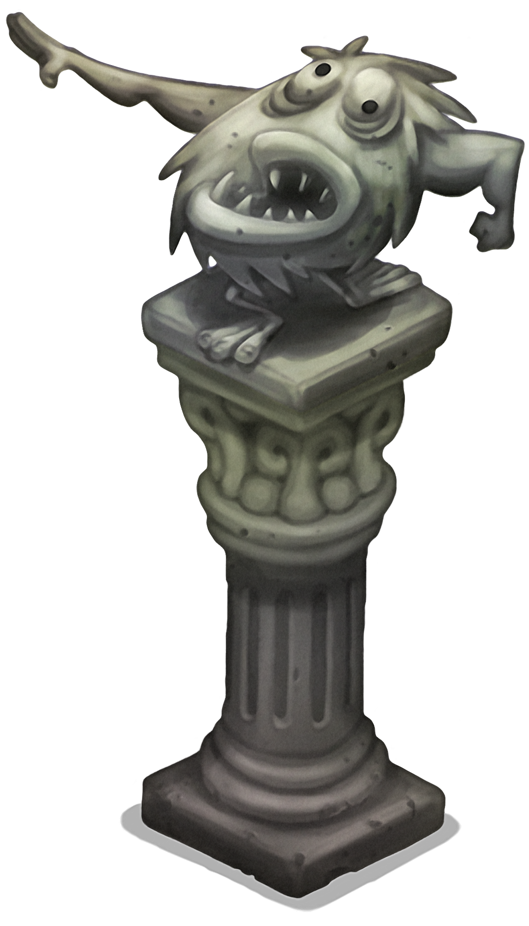 Statue podium png. Barbloo my singing monsters