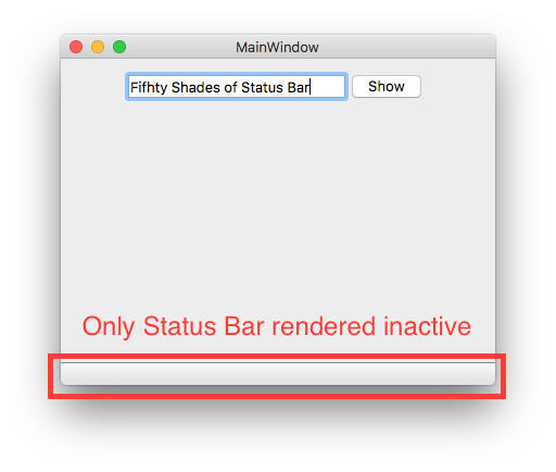 Status bar png. Qtbug rendered inactive after