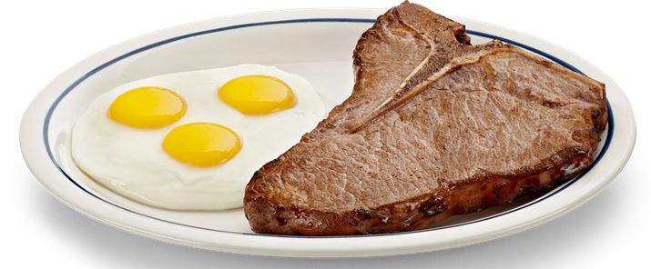Steak and eggs png. Vince gironda diet