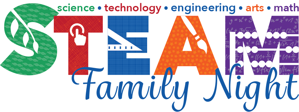 Steam clipart steam education. Family night cherry chase