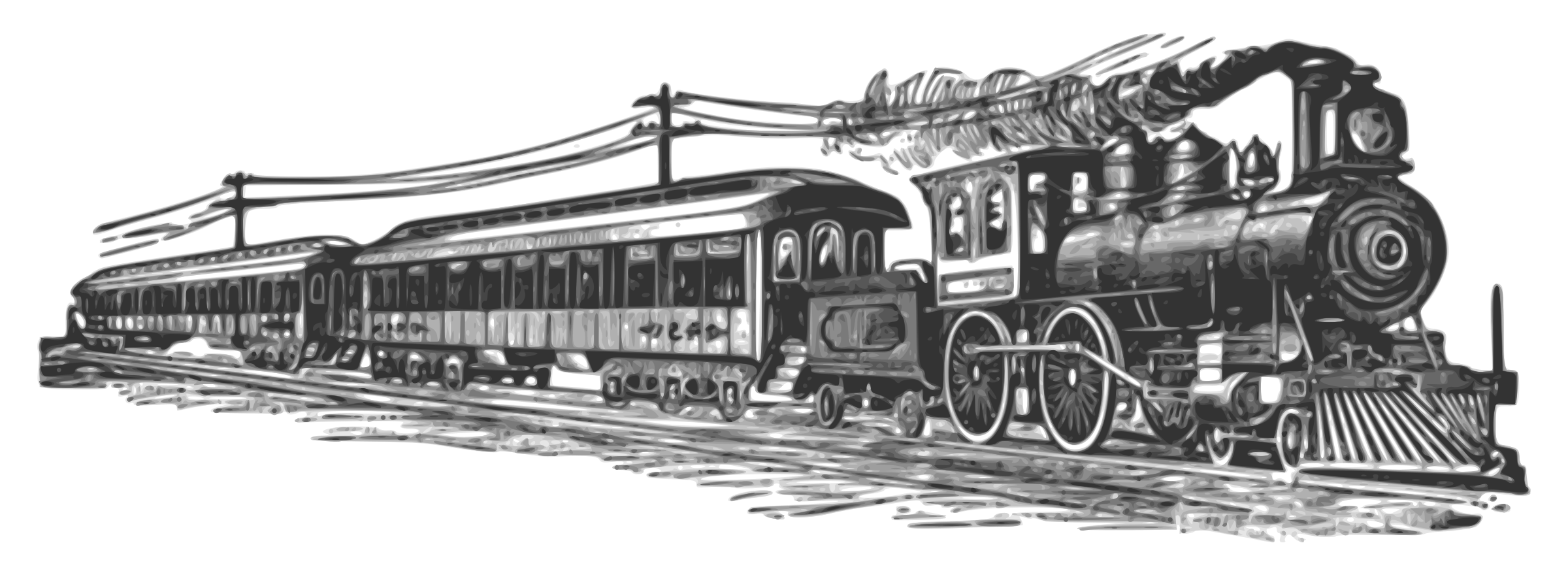 Steam clipart steam line. Locomotive icons png free