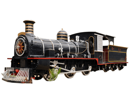 Steam train png. Transparent stickpng