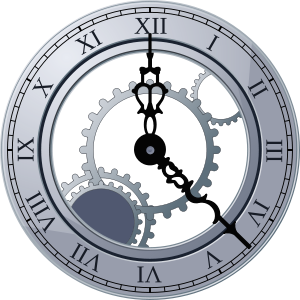 Cogs vector clock. Reading resolutions for a