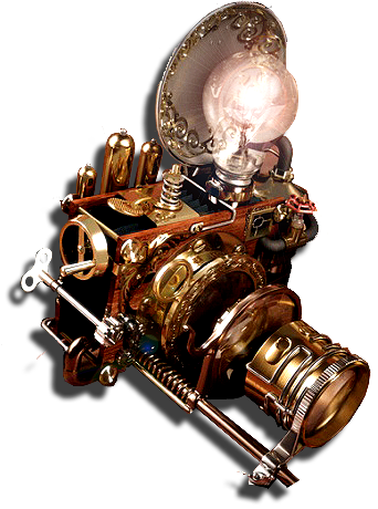 Steampunk icons png