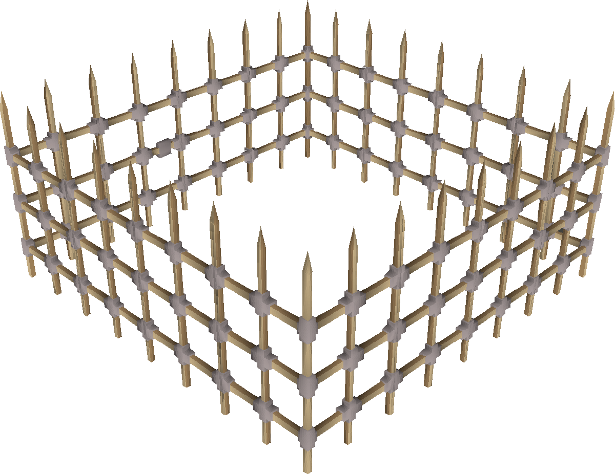 Steel cage png. Oak and osrs wiki