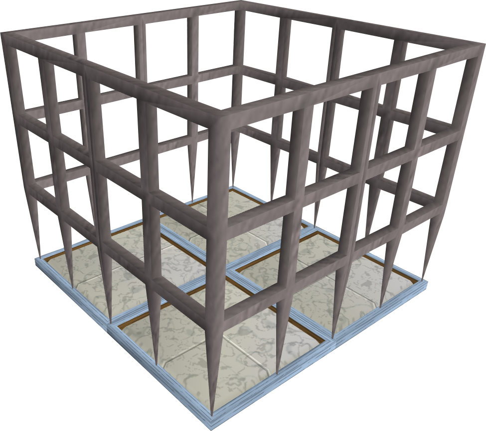 Steel cage png. Image trapped player runescape