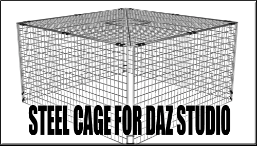 For daz studio by. Cage clipart steel cage banner royalty free