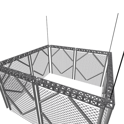 Steel cage png. Wwe roblox