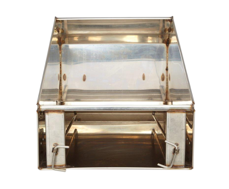 Steel crate png. Automatic pig feeder for