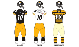Steelers golden letters png. Logos and uniforms of