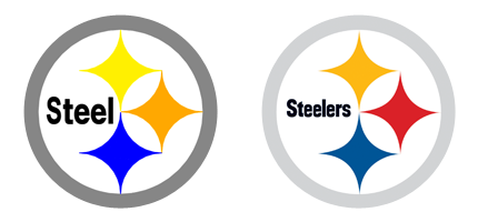 Free pittsburgh logo download. Steelers vector official image black and white library