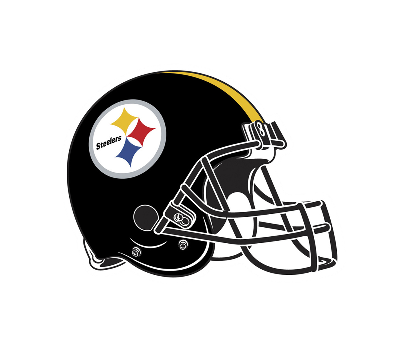 steelers vector helmet