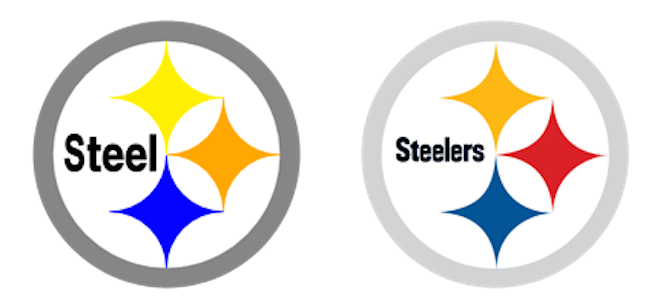 Steelers vector design. Concept helmet futuristic and