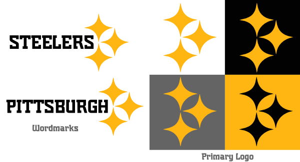 Steelers vector stencil. Pittsburgh logo png images