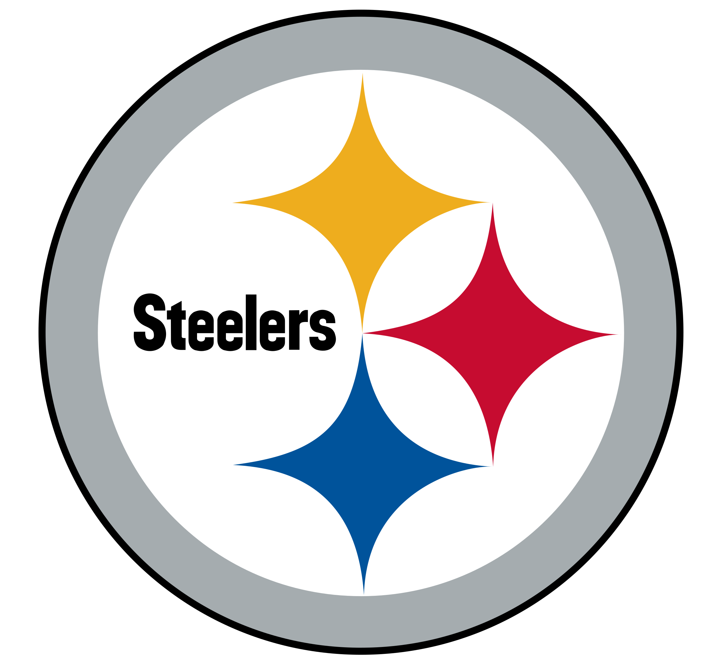 Pittsburgh logo png transparent. Steelers vector official graphic black and white