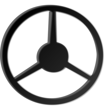 Car motor vehicle steering. Wheels clipart black and white library