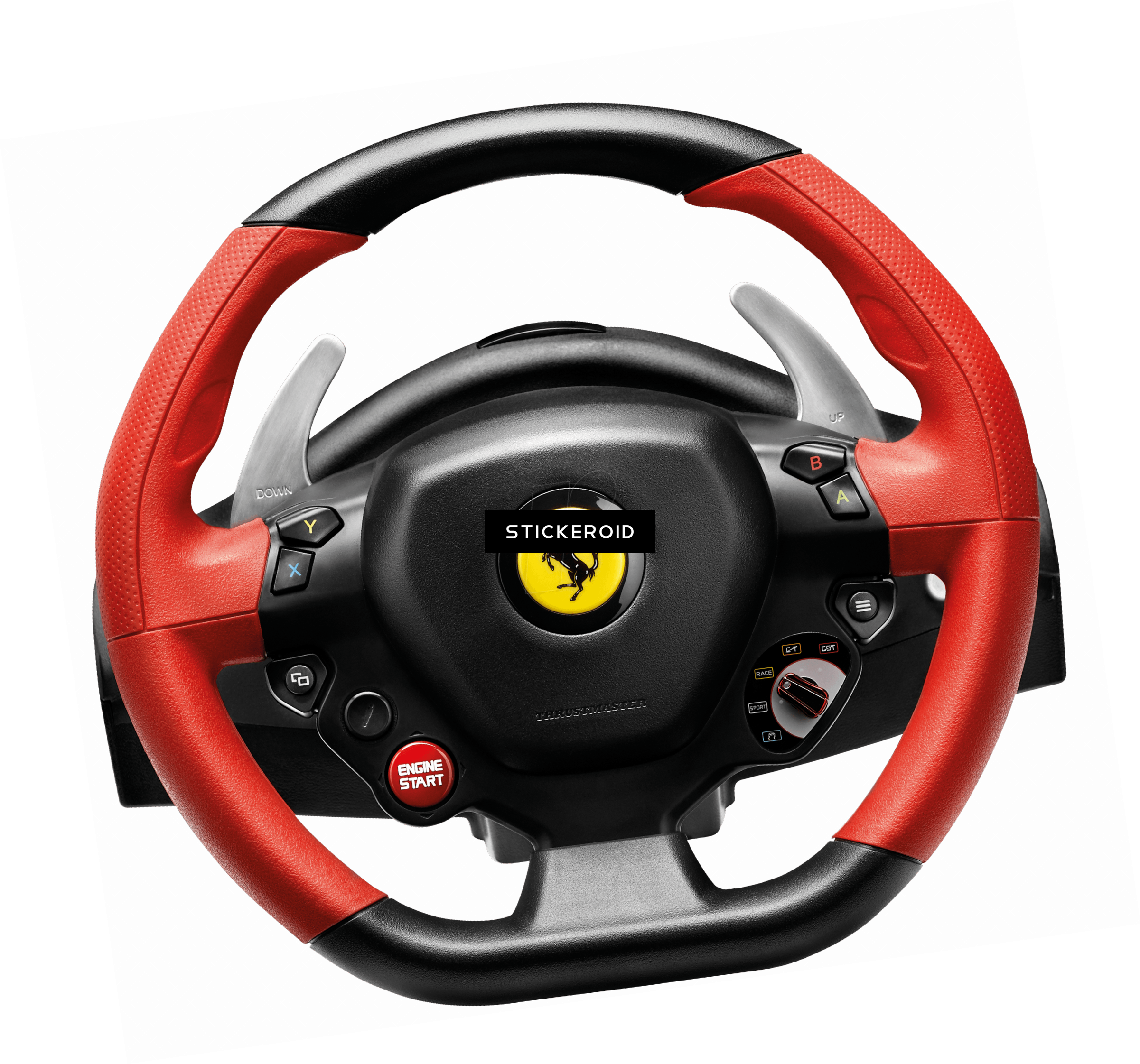 Steering wheel clipart png muscle car.