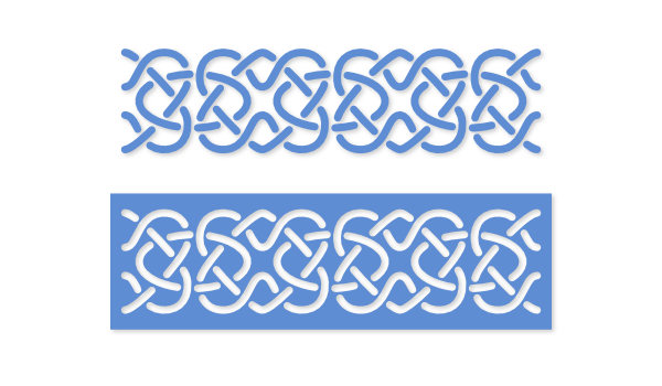 Stencil svg border. Free files images by