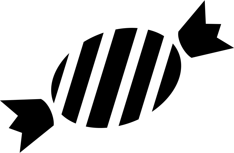 Stencil svg stripes. Striped candy png icon