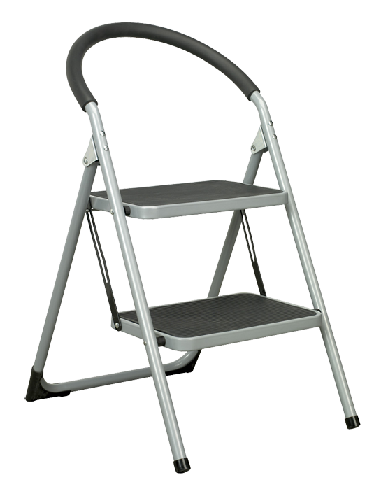 Step ladder png. Tread stool kg