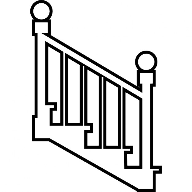 steps clipart stair side view