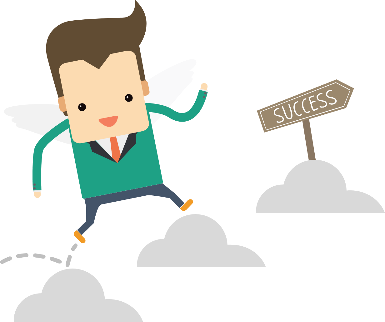Success clipart. Doing clip arts for