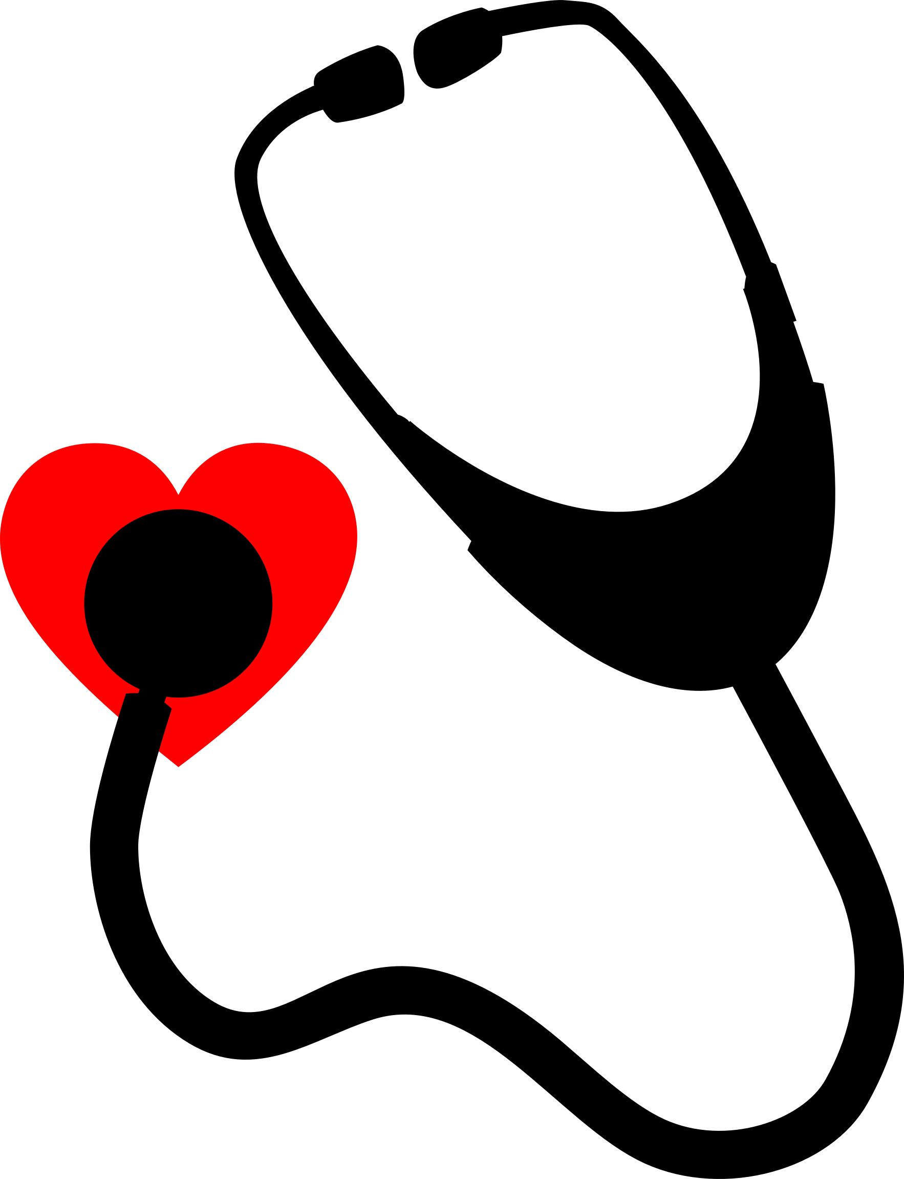 Stethoscope heart png. Icons free and downloads