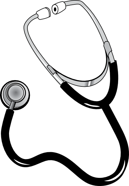 Stethoscope png vector. Clip art at clker