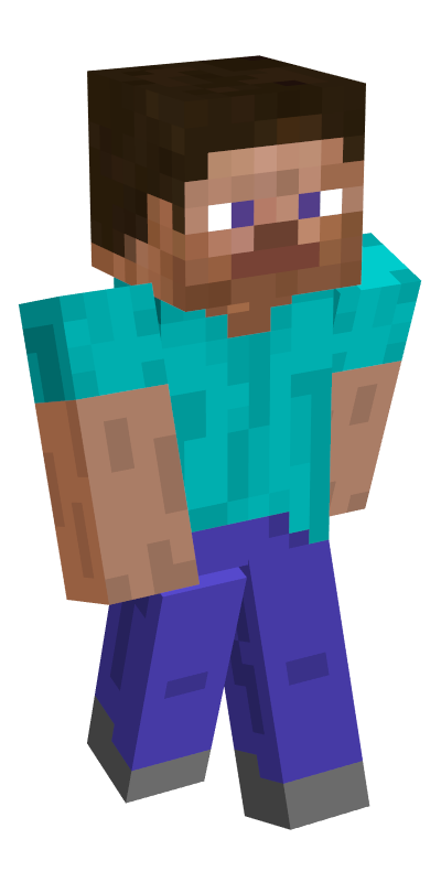 Steve minecraft png. Trying out some skins