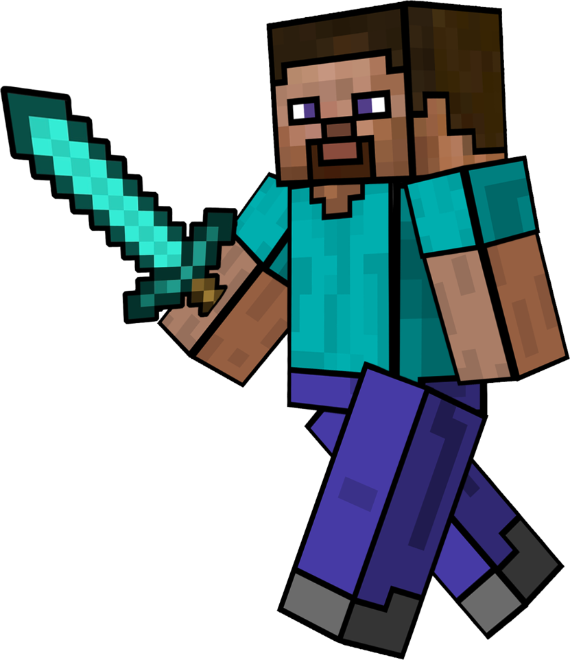 Steve transparent clipart. Minecraft at getdrawings com