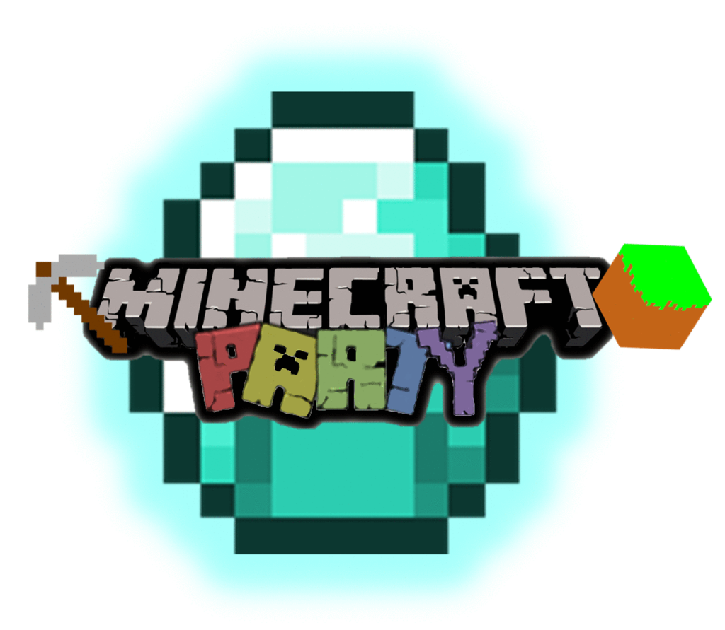 Steve transparent clipart. Minecraft birthday clip
