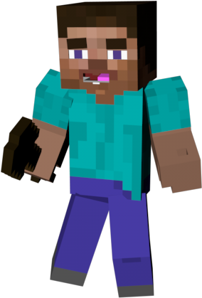 Steve transparent clipart. Download hd minecraft costume