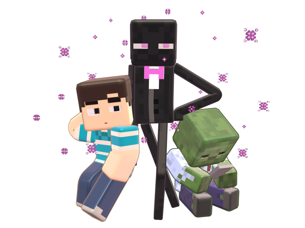 Steve transparent guy minecraft. Mmd smooth preview slamacow