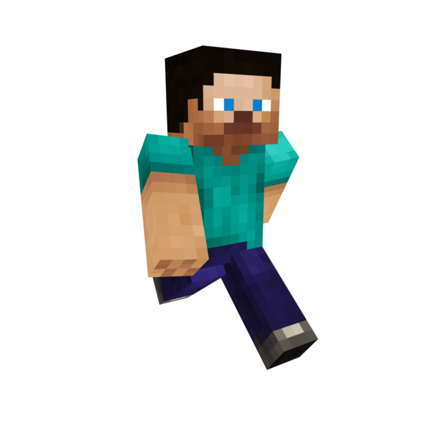 Steve transparent minecraft backround. Mines death battle by