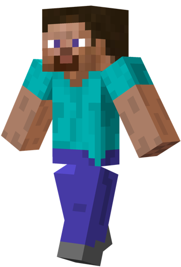 Steve transparent outline minecraft. Quiz by bexno star