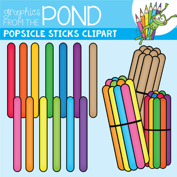 Popsicle graphics from the. Sticks clipart graphic library
