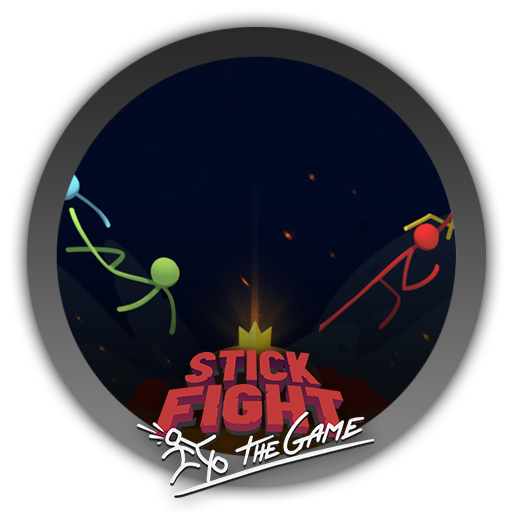Stick fight the game logo png. Icon by blagoicons on