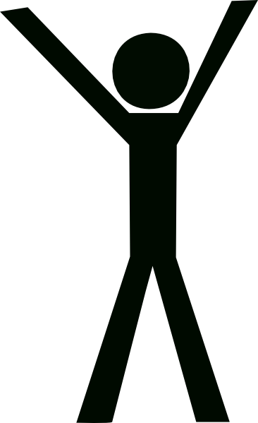 Reading vector stick figure. Stickman png hd free