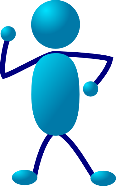 Stick figure thinking png. Man clip art at
