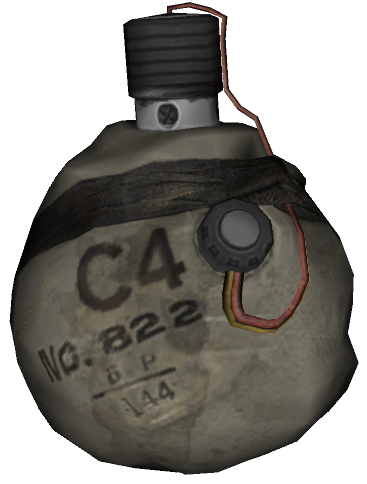 Stick grenade png. Semtex call of duty